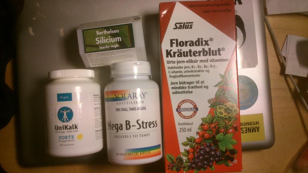hårtab kvinder vitaminer