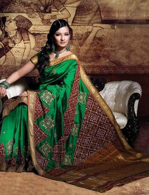 Deep-Green-Handloom-Kanchipurum-Pure-Silk-Sari